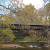 Fall Foliage, Covered bridge